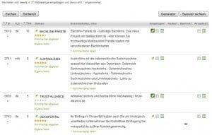 fastbacklink Webkatalog Datenbank
