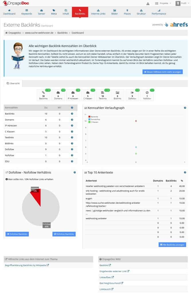 backlinks-dashboard