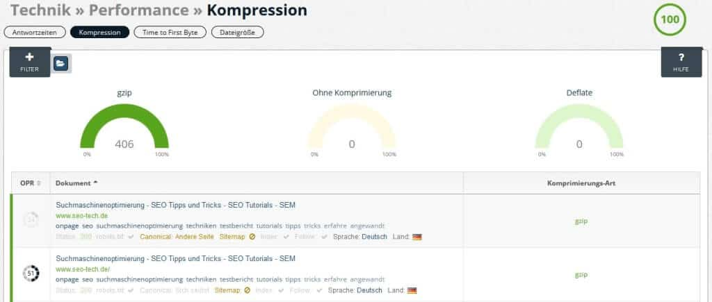 onpage.org Kompression
