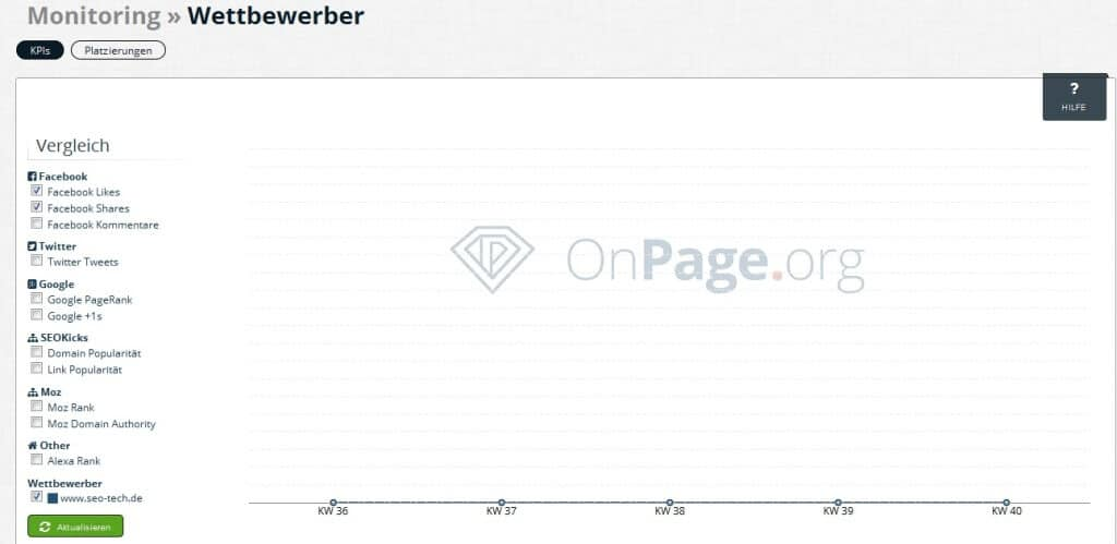 onpage org zoom wettbewerber monitoring