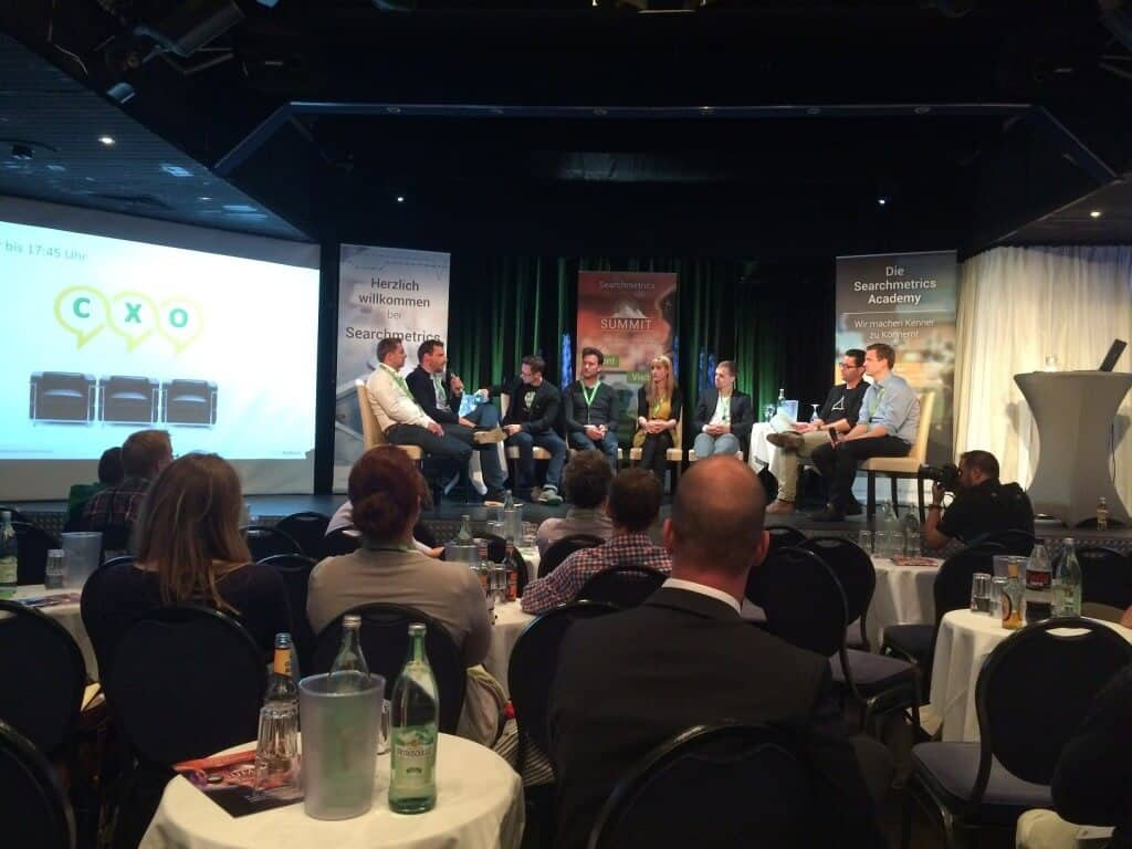 Searchmetrics Summit München 2015 Round table