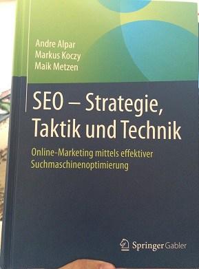 SEO Buch von AKM3