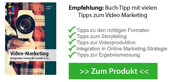 Video Marketing Buchtipp