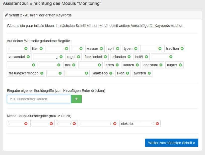 Pagerangers Testbericht- Keyword Monitoring einrichten by seo-tech.de