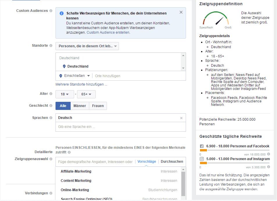 facebook ads targeting tool