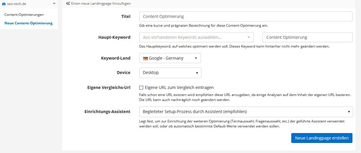 pagerangers content suite neue optimierung