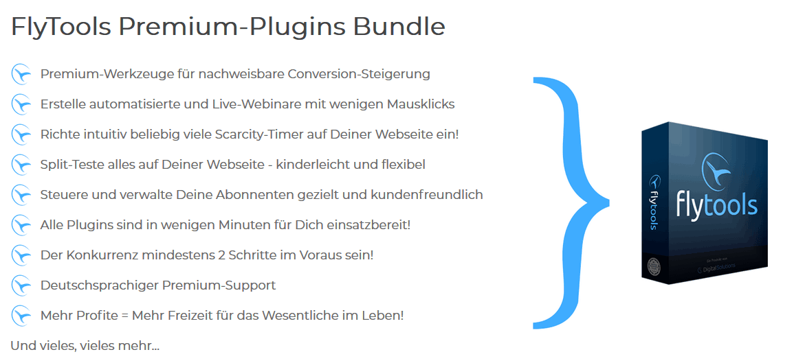 flytools funktionen premium bundle