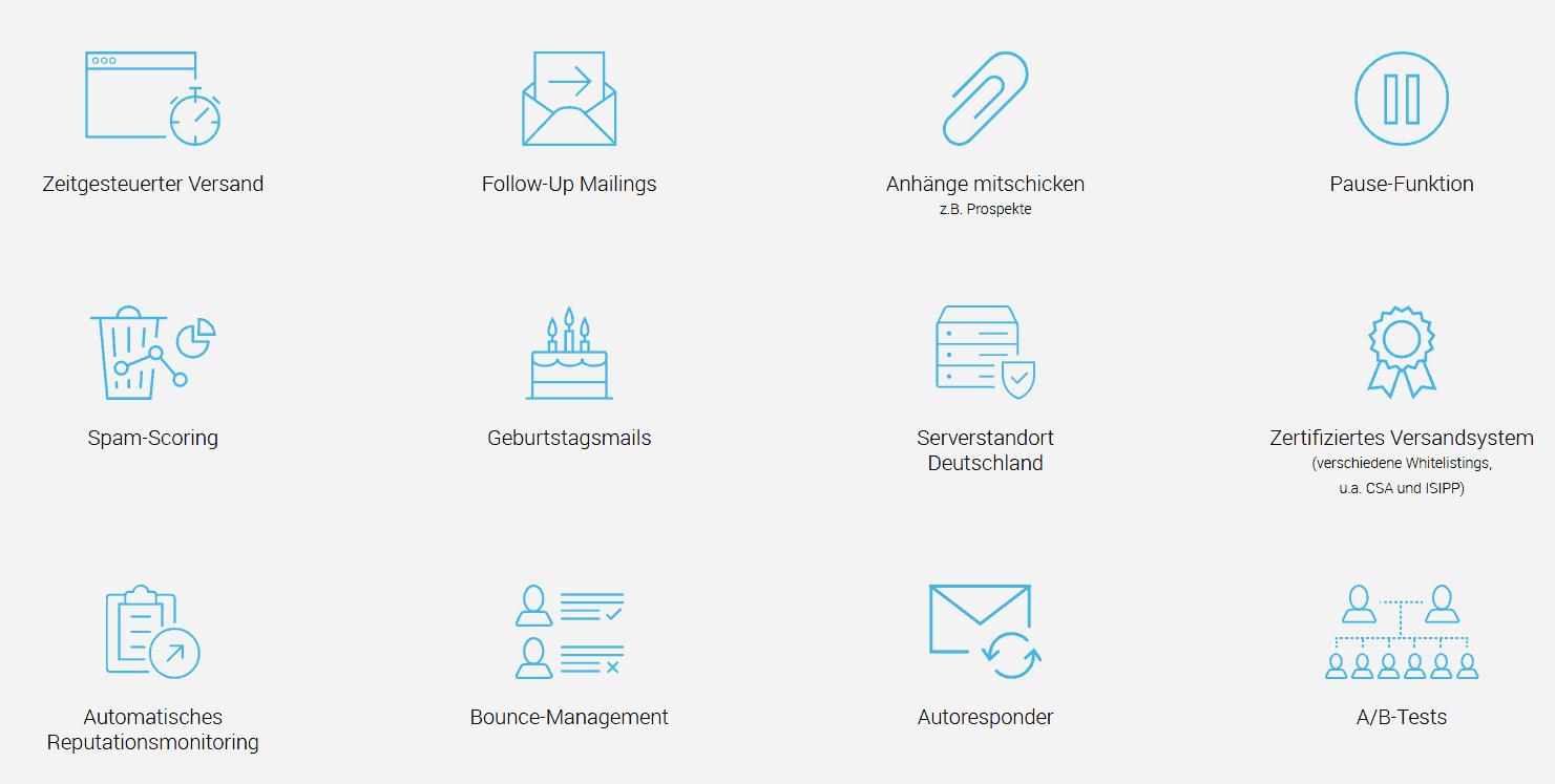 rapidmail funktionen automatisierung